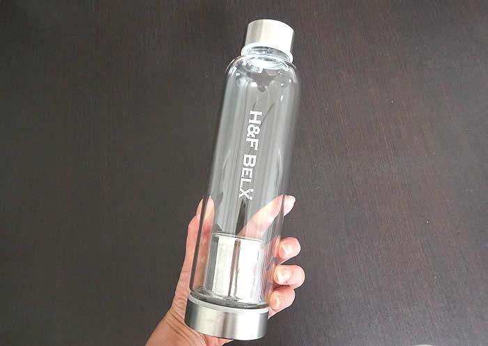 H&F BELXのガラスタンブラー