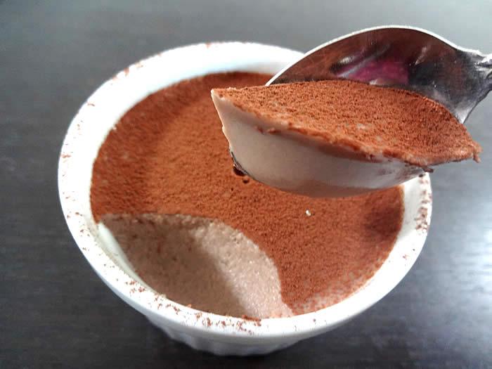 besup(ビサップ)で作るスイーツ、チョコレートババロア風